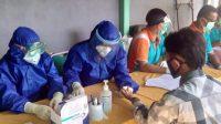 Diinisiasi PCNU Pati, 93 Santri Lirboyo Ikuti Rapid Test sebelum Ke Pondok