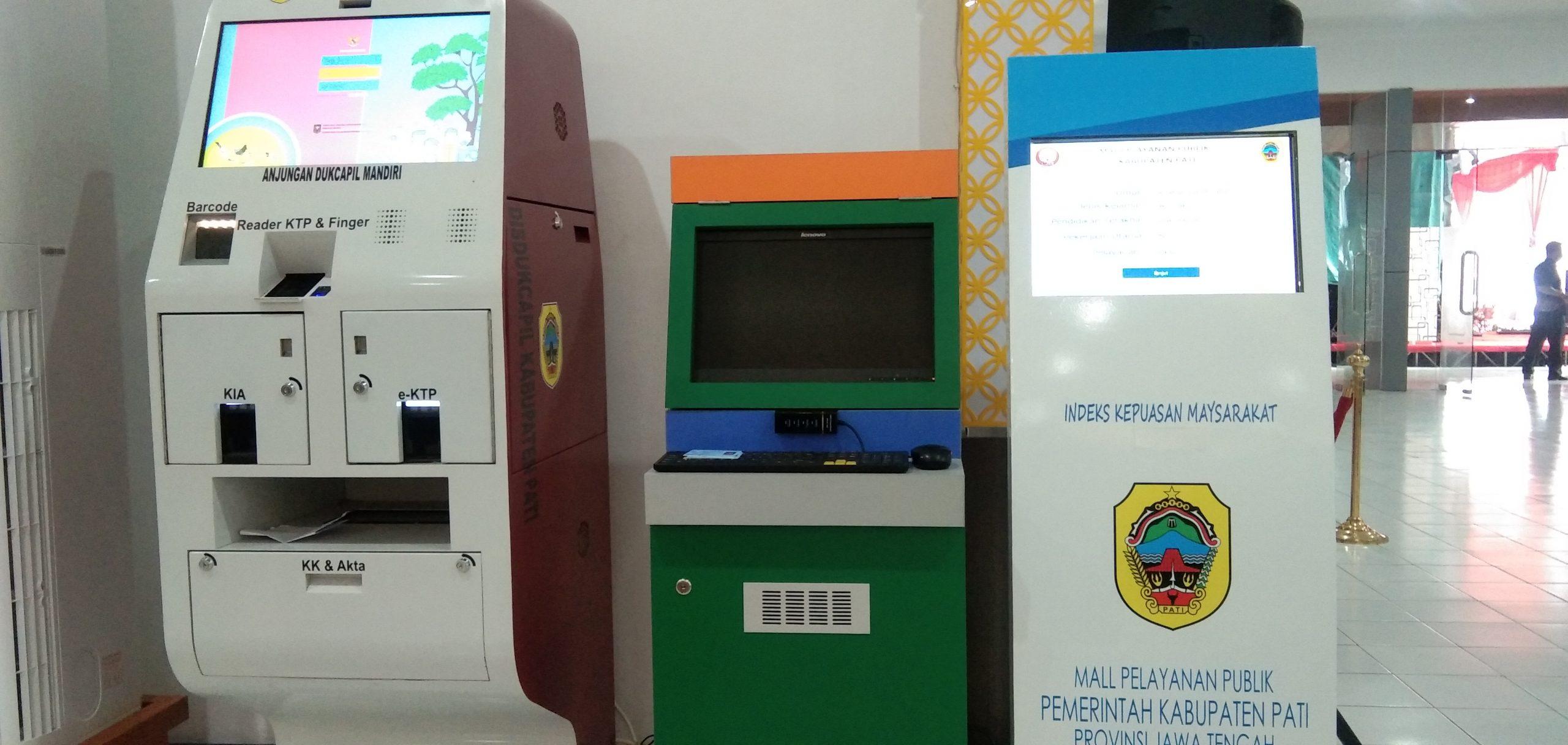 sistem aplikasi antrian di MPP Pati