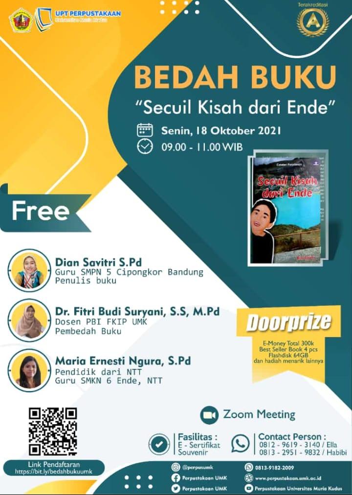 Advertisement Bedah Buku